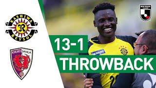 Michael Olunga scores eight goals in one game! | Kashiwa Reysol 13-1 Kyoto Sanga | 2019 | J2 League