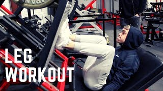 LEG DAY ft KAV BYRNE - High Volume Leg Workout For Mass