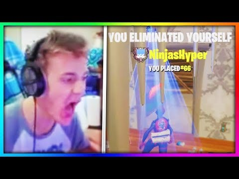 7 Times Ninja Got Outplayed in Fortnite: Battle Royale (RAGE)