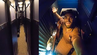 TRYING an OVERNIGHT BUS HOTEL in JAPAN!