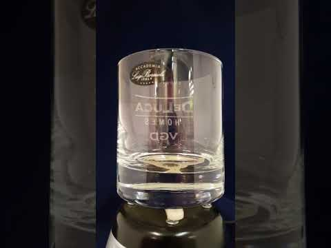 Engraved Classico Crystal Rocks Glass - Quality Glass Engraving