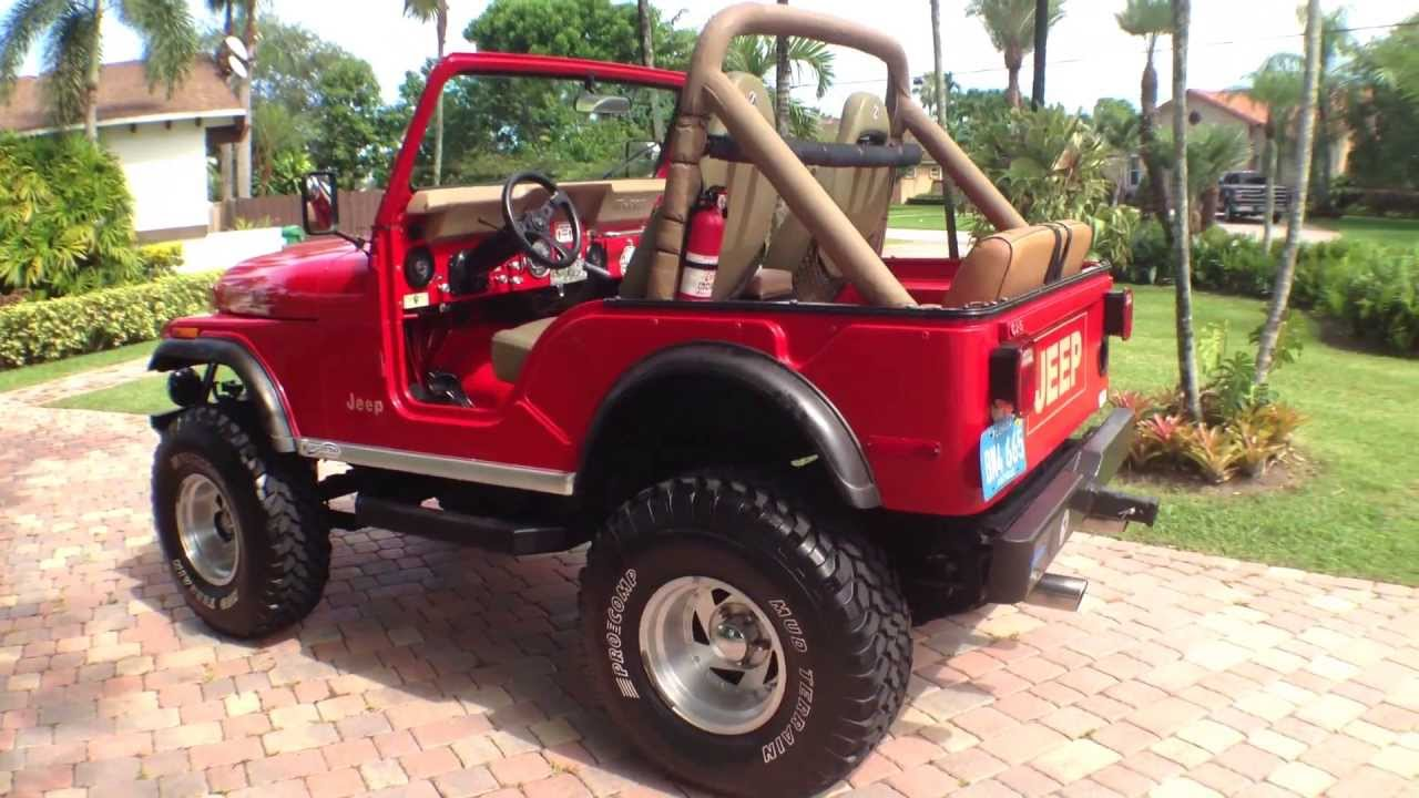 1976 jeep cj5 walk around and drive was for sale youtube. Black Bedroom Furniture Sets. Home Design Ideas