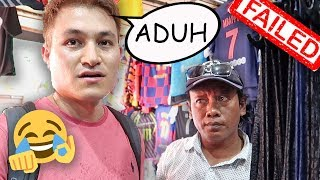 Foreigner Trying To Bargain in Indonesian...GONE WRONG | LOCAL SHOPPING IN BALI, INDONESIA