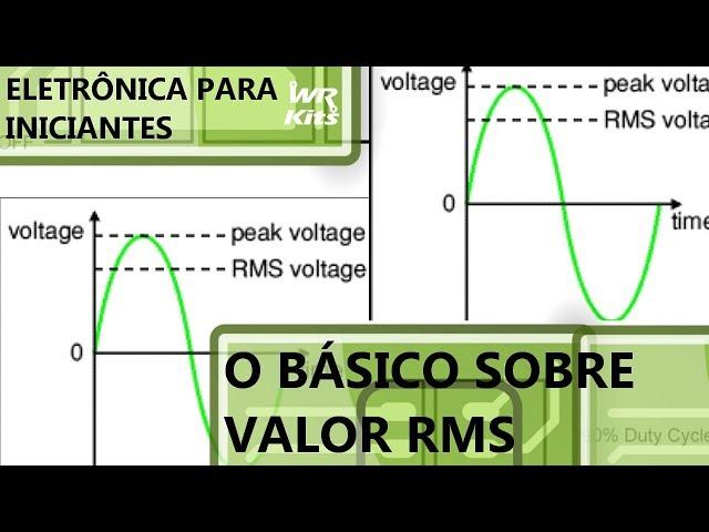 O BÁSICO SOBRE VALOR RMS | Eletrônica para Iniciantes #137