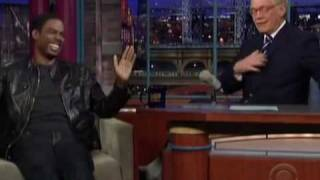 Chris Rock Talks About the David Letterman Sex Scandal