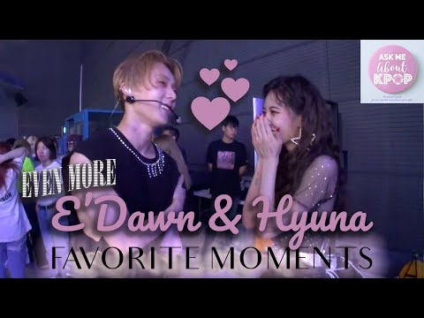 EVEN MORE Hyuna & E'Dawn Moments [ENG SUB]