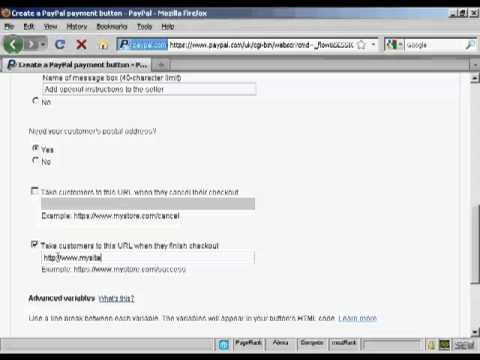 AdGenie Video 9 - How To Add Paypal Order Buttons To Your Website