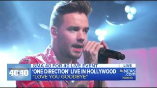"""One   Direction Performs """"Love You Goodbye"""""""