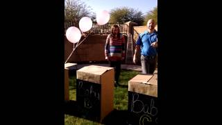 Gender reveal of the Mead Quadruplets