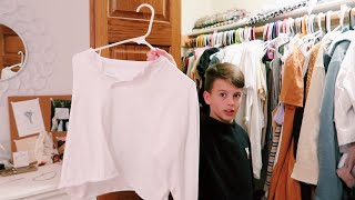 my brothers pick out my outfits for a week