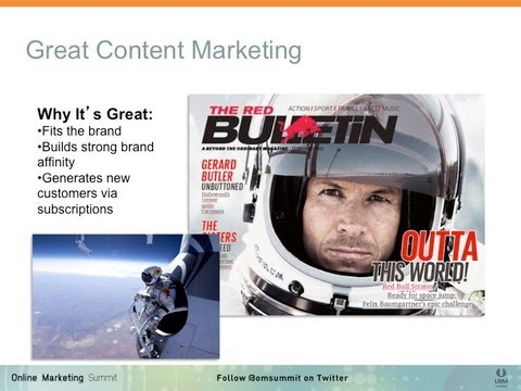 Content Marketing - Magazine cover