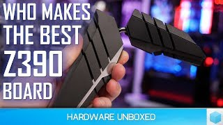 Core i9-9900K, High-end Z390 VRM Temperature Test, Which Board Should You Buy?