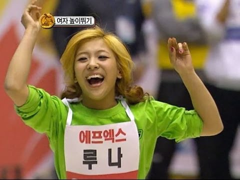 【TVPP】Luna(f(x)) - 'Again' Winner of W High Jump, 루나(에프엑스) - 높이뛰기 우승 @ 2011 K Pop Star Championships