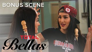 Nikki Bella Gets Pumped for WWE Evolution With 'Bella Pep Rally' | Total Bellas | E!