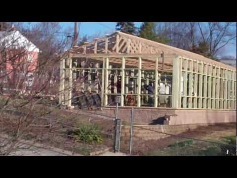 Build a 12 39 by 8 39 gothic arch greenhouse for less than for Gothic arch greenhouse plans