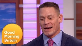 Does John Cena Cry? John Cena Discusses His New Film | Good Morning Britain