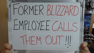 Former BLIZZARD Employee Calls Them Out Over DODGY HIRING PRACTICES!!