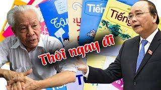 Kiêu căng đòi cải tiến chữ bằng được, GS Hồ Ngọc Đại lãnh trọn cái tát chí mạng của Nguyễn Xuân Phúc