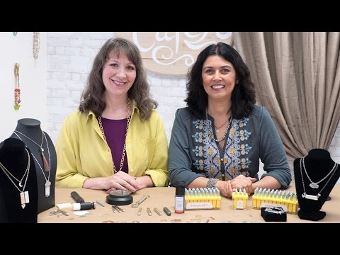 Artbeads Cafe - Metal Stamping with Cynthia Kimura and Cheri Carlson