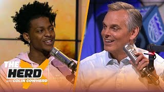 De'Aaron Fox on the challenge of defending Steph Curry & playing in Sacramento | NBA | THE HERD