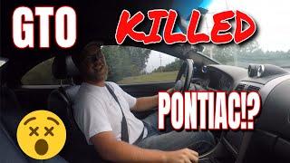 The 04 06 GTO KILLED Pontiac!? // Car Vlogs Ep 6 // Procharged 06 Pontiac GTO