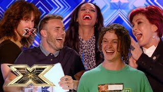 Auditions that will make you LAUGH for all the right reasons! | The X Factor UK