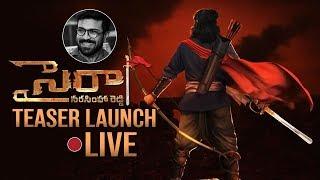 Sye Raa Narasimha Reddy Teaser Launch Live- Chiranjeevi, R..