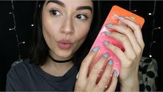 ASMR Tapping & Whispering #3 ♡ (April Makeup Favs)