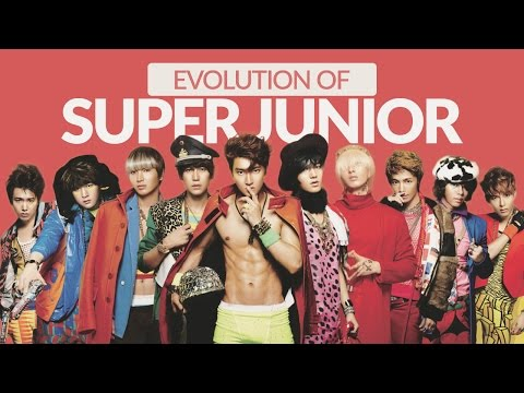 The Evolution of SUPER JUNIOR (슈퍼주니어) - Tribute to K-POP LEGENDS