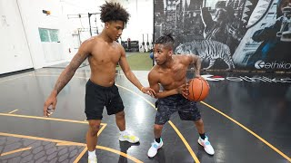 1V1 AGAINST 16 Year Old Mikey Williams!! (INTENSE)