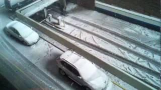 New York City Snow - October 29, 2011