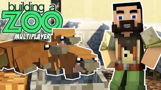 I'm Building A Zoo In Minecraft Again! - Building TWO Exhibits! - EP03