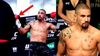 Did Robert Whittaker just show us how he'll beat Kelvin Gastelum?