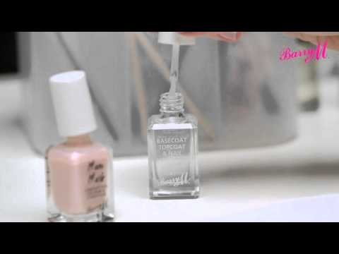 How to use Barry M Nail Care