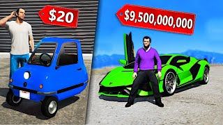 CHEAPEST vs. Most EXPENSIVE Car In GTA 5..