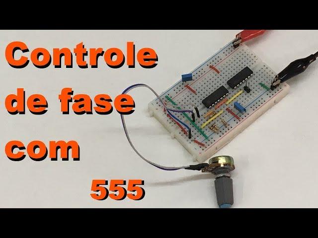 CONTROLE DE FASE DE UM SINAL PULSANTE | Conheça Eletrônica! #088
