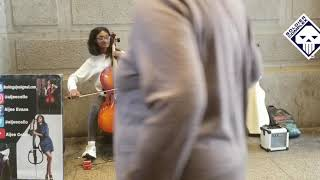 Black Musicians Playing Classical Music with Violins and Cellos.