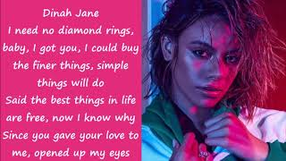 Dinah Jane - Bottled Up Ft. Ty dolla sign, Marc E. Bassy (Lyrics)