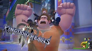 Kingdom Hearts 3 Gameplay (Wreck-It Ralph, Keyblades, Summons)