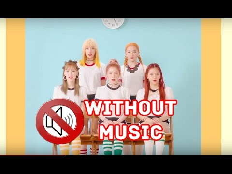 레드벨벳 Red Velvet - Russian Roulette (MV Without Music)