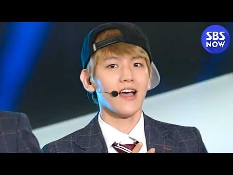SBS [2013슈퍼모델선발대회] - 엑소(EXO)의 축하공연 '으르렁(Growl)'