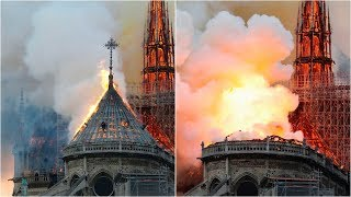 Notre-Dame Cathedral on fire in Paris | CBC News Network special coverage