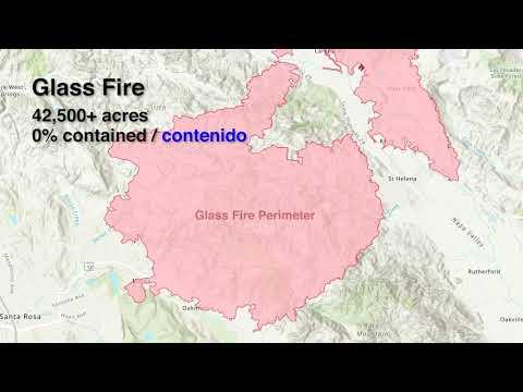 Glass Fire Evacuation Map Update - 9/29/2020