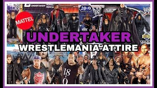 The Undertaker | Every WWE Mattel Wrestlemania Figure