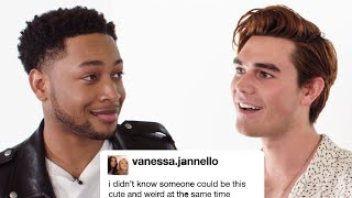 "K.J. Apa and The Cast of ""The Last Summer"" Competes In A Compliment Battle 