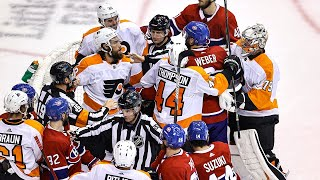 Flyers send Suzuki, Canadiens home with head pats