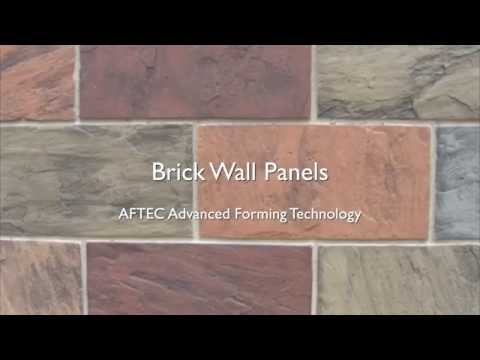 Brick Wall Panels- AFTEC Advanced Forming Technology
