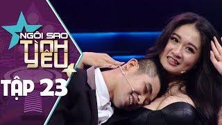 """NGÔI SAO TÌNH YÊU TẬP 23 - Thiếu gia sướng ra mặt khi được bạn gái """"siêu vòng 1"""" cho tựa đầu"""