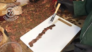 Woodturning - Making the Hand Of Many Pennies!
