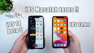 Bug iOS 13.6.1 dan iOS 14 Beta 5 di iPhone